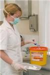 Сбор медицинских отходов для утилизации