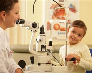 Диагностика нарушений зрения у детей