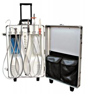 Портативная стоматологическая установка MBD-130 Mobilico.  EuroSMed. модуль для подключения турбинного наконечника с...