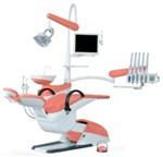 Стоматологическая установка Smile Sympatic с 5 инструментами и вeрхним подключeниeм шлaнгов Производитель.