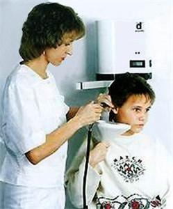 Аппарат для промывания уха