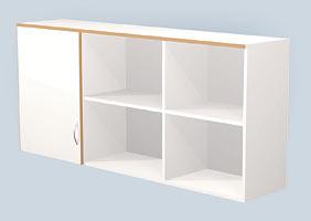 Навесной лабораторный шкаф