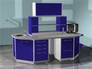 Лабораторный островной стол