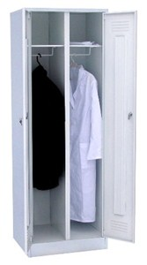 Шкаф для одежды медицинский